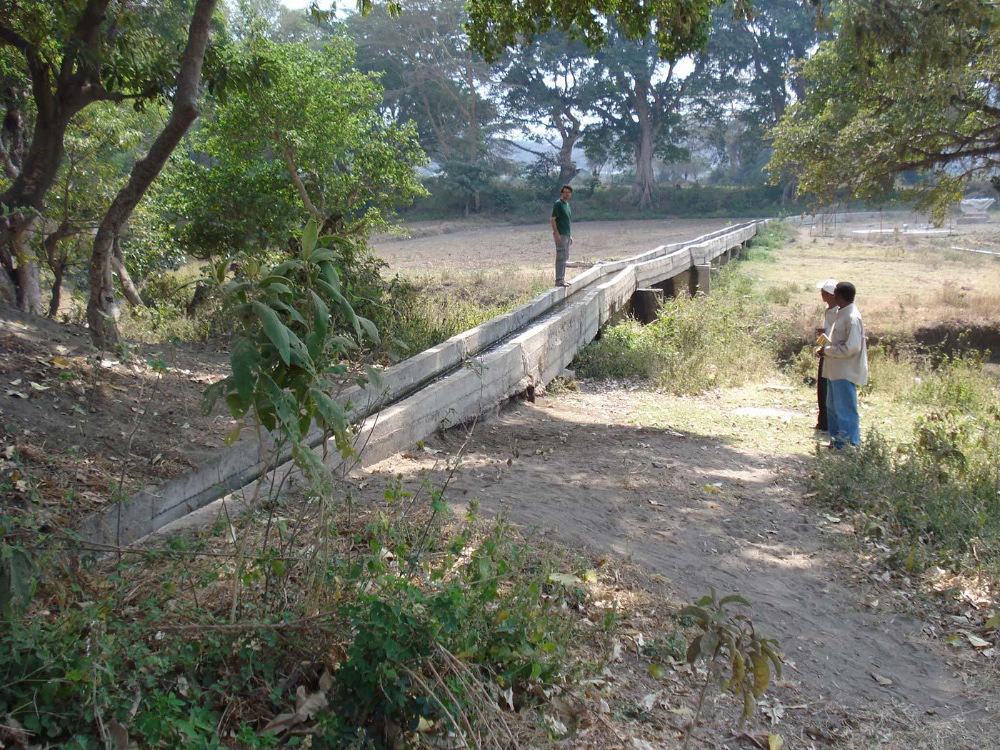 Definizione del tracciato dell'acquedotto
