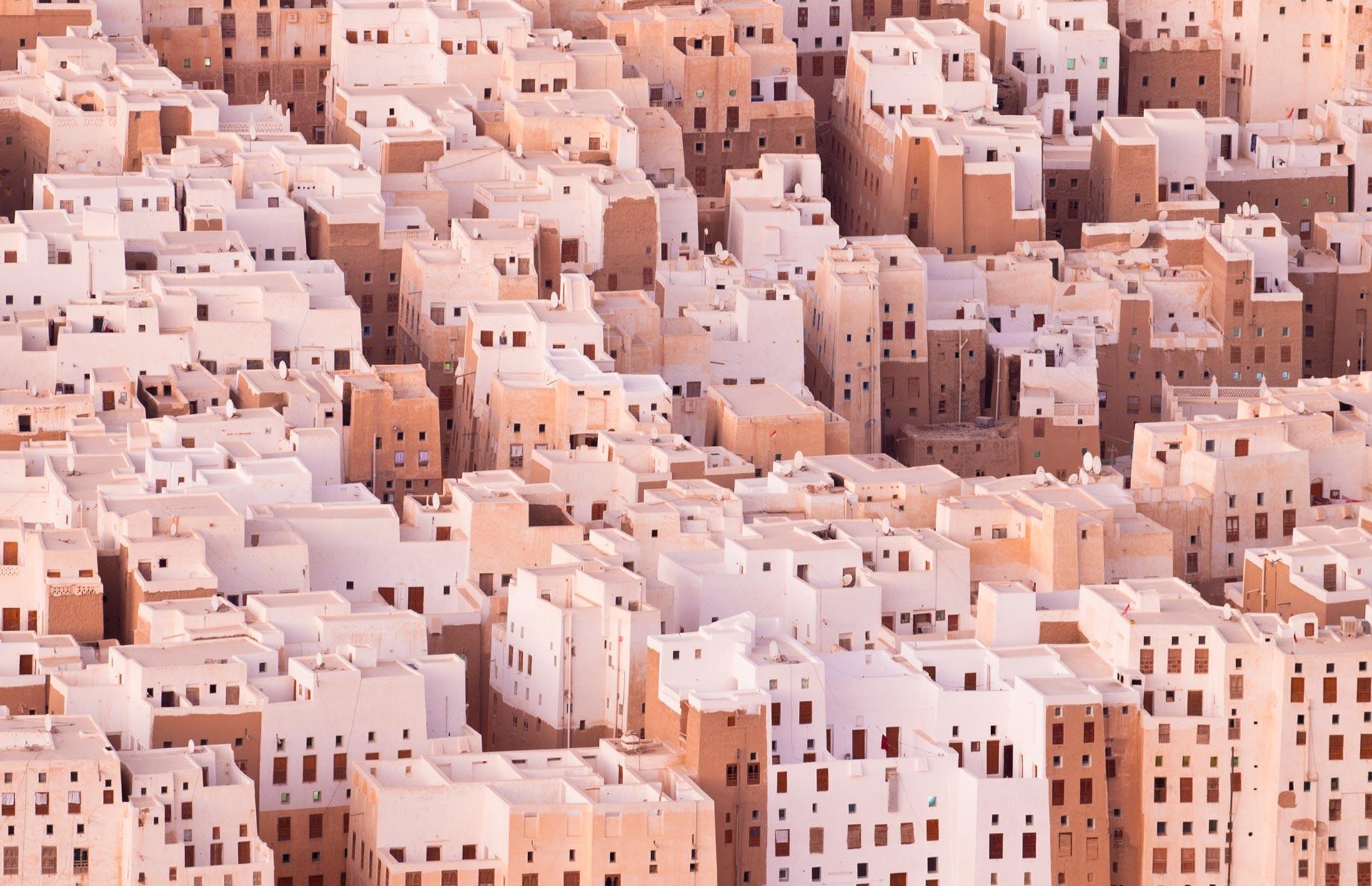 Shibam, Yemen, Patrimonio dell'Umanità dell'UNESCO.